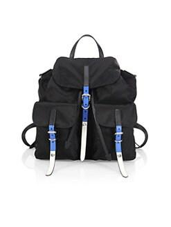 ac74dc72a6e9 QUICK VIEW. Prada. Nylon Backpack With Studding
