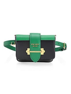 73b120028 Product image. QUICK VIEW. Prada. Cahier Leather Belt Bag