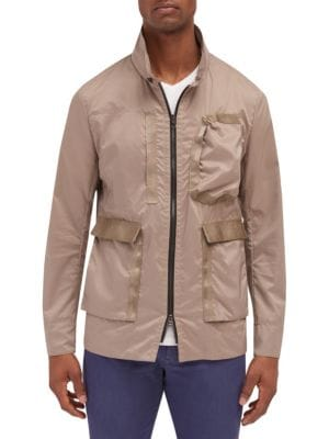 EFM-ENGINEERED FOR MOTION Duster Bomber Jacket in Birch