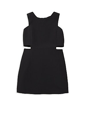 Girl's Cutout Mini Dress by Milly Minis