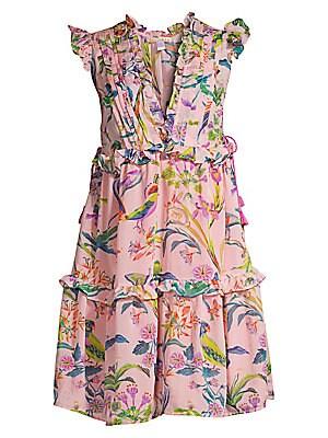 2e4a85c82f1020 Banjanan - Chandra Silk Floral Dress - saks.com