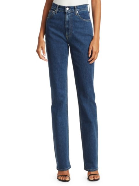 Helmut Lang Femme High-Rise Bootcut Jeans | SaksFifthAvenue