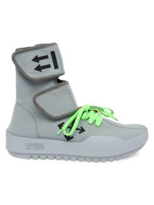 c78401d417cc Lanvin - Suede   Patent Leather Low-Top Sneakers - saks.com