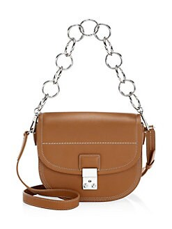 23f9ada3be91a Pashli Leather Saddle Shoulder Bag COGNAC. QUICK VIEW. Product image