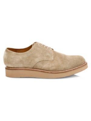 Grenson Curt Wedge Suede Derbys
