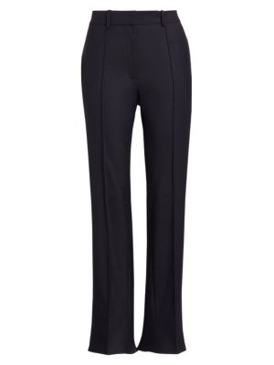 Rokh Back Slit Seamed Tapered Cropped Trousers