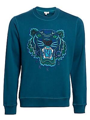 8cc206ca7603 Kenzo - Embroidered Tiger Crewneck Sweatshirt