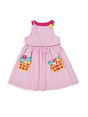 be6816998d9 Florence Eiseman - Little Girl's Stripe Seersucker Floral Dress - saks.com
