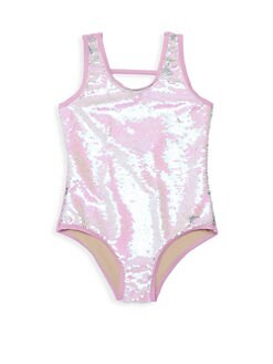 e0aa238eca0d3 Shade Critters. Mermaid Scale Sequin One-Piece Swimsuit