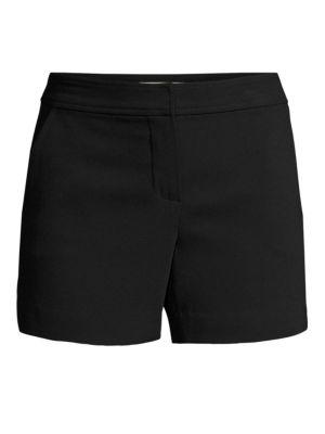 Daulton Zip Shorts in Black