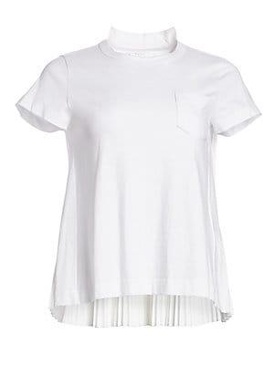 7105fcf4e Carolina Herrera - Key To The Cure Poppy T-Shirt - saks.com