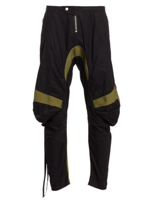 Unravel Project Cotton Blend Motorcross Pants