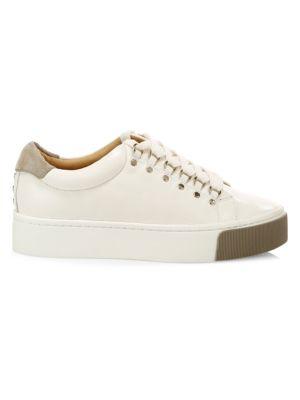 Joie Handan Leather Platform Sneakers