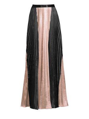 Amur Oliana Metallic Maxi Skirt