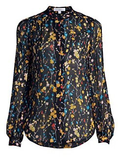 ad0a6efae24db6 QUICK VIEW. Equipment. Cornelia Floral Silk Blouse
