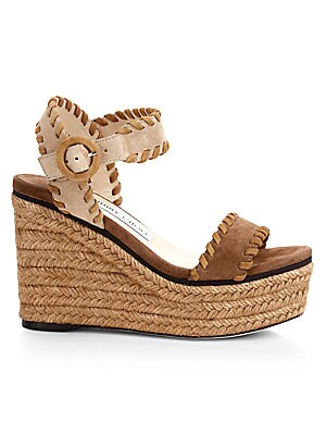 8fdd6f86cb2a Jimmy Choo - Nellie 100 WXW Studded Leather Cork Wedge Sandals ...