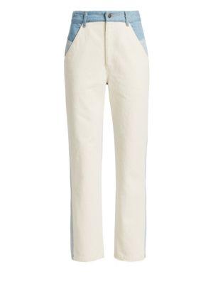 Sea Deja Colorblock Straight Leg Jeans