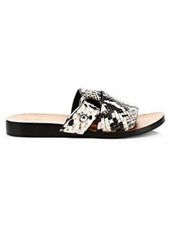 3f912d27c70d8 Rag   Bone. Arc Flat Slide sandals