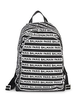 0843a033318 Balmain. Small Urban Logo Backpack