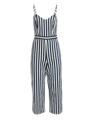The Cut-It-Out Striped Jumpsuit
