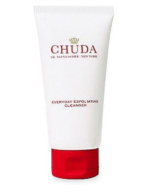 Image of WHAT IT IS Cleansing and exfoliating are essential steps to achieving healthy skin. Now you can do them both simultaneously. Chuda Everyday Exfoliating Cleanser is formulated with mild, naturally derived ingredients that remove all traces of dirt, oil and