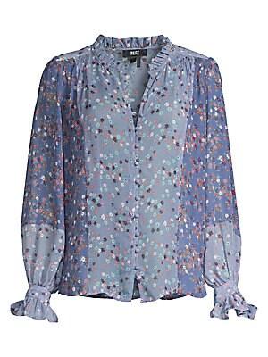 bea8de266a893 Equipment - Starry Night Slim Signature Shirt - saks.com