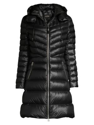 Lara Hooded Quilted Down Coat by Mackage
