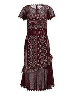 Sea Lola Lace Midi Dress