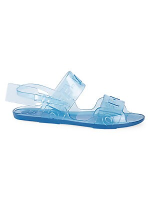 4f714a683e3 Off-White - Zip-Tie Jelly Sandals - saks.com