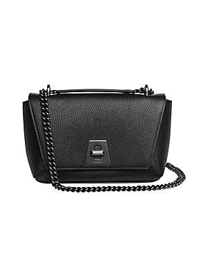 b4bb94ab4dd7 Salvatore Ferragamo - Medium Ginny Leather Shoulder Bag - saks.com