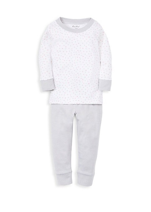 Little Girls Stargazer TwoPiece Pajama Set