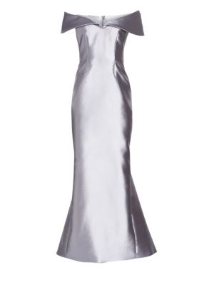 Catherine Regehr Anna Off The Shoulder Gown