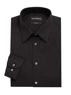 e57e37f6032 Emporio Armani. Cotton Dress Shirt