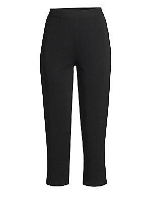 1efc93393ec7 Piazza Sempione - Audrey Velvet Cropped Pants - saks.com