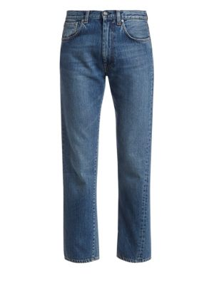 Toteme Original Straight Leg Ankle Jeans