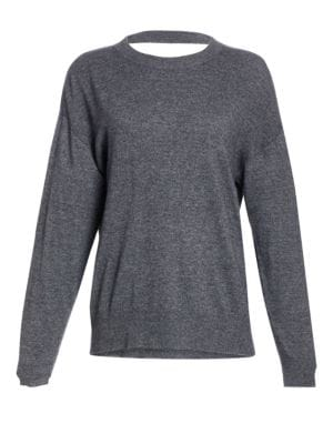 A.l.c Knowles Cut-Out Knit Sweater