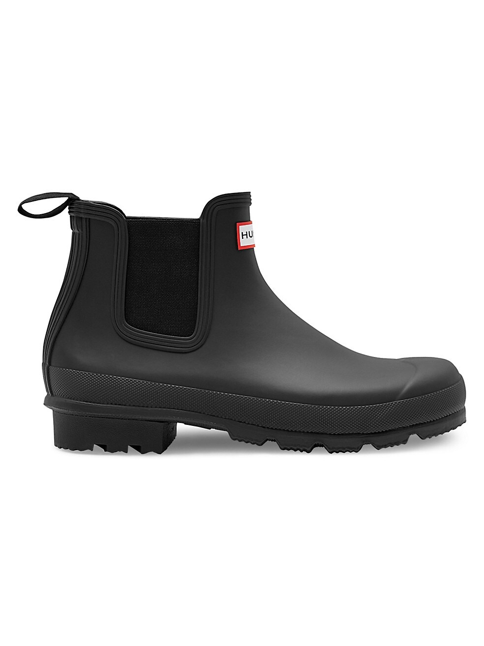 Hunter Waterproof Rubber Chelsea Boots
