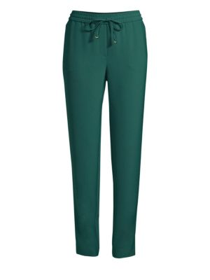 Crepe Pull On Pants by Donna Karan New York