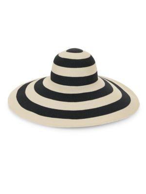 Eugenia Kim Sunny Striped Wide Brim Sun Hat