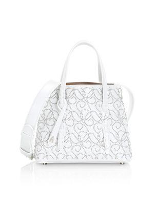 Alaïa Mini Mia Studded Top Handle Bag