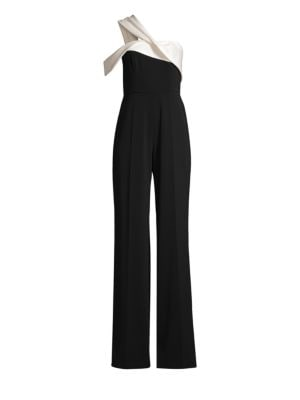 Clarkham Stretch Crepe Jumpsuit by Jay Godfrey