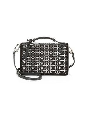 Chloé - Small Faye Leather & Suede Shoulder Bag - saks com