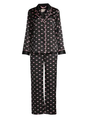 Kate Spade New York Evergreen 2 Piece Long Pajama Set