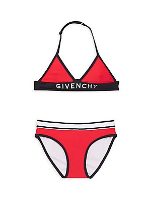 4a38bbfaa87a9 Shoptagr | Little Girl's & Girl's Logo Two Piece Swimsuit by Givenchy