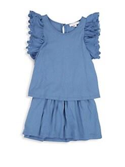 504f95349678d QUICK VIEW. Chloé. Little Girl s Jersey Dot Dress
