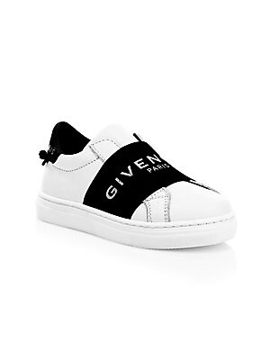 aecd87940d978 Givenchy - Little Kid s  amp  Kid s Logo Banded Leather Sneakers