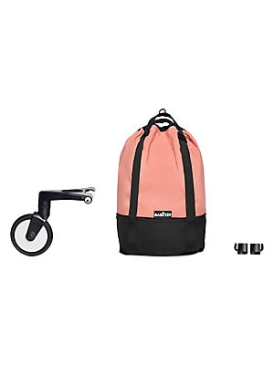 Image of Whether storing toys or shopping goodies, the YOYO+ bag remains lightweight and fits to a rolling base, so your stroller will no longer tip with the weight of hanging bags! Compatible with YOYO+ 0+ and 6+ strollers Comes with removable rolling base Adjust
