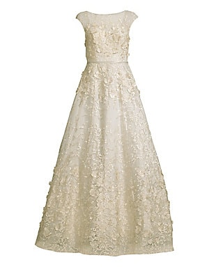 1c83558f6c0 Basix Black Label - Embroidered Ball Gown - saks.com