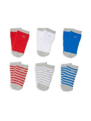 Calvin Klein Baby S Set Of Six Socks