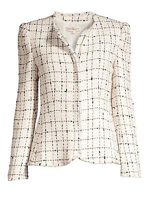 Plaid Tweed Jacket by Rebecca Taylor